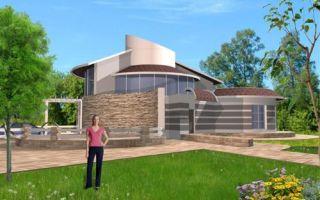 Проект двухэтажного дома 243 кв.м — 101-243