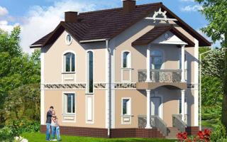 Проект двухэтажного 110 кв.м — 103-110