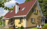 Проект дома с мансардой 121 кв.м — 104-121