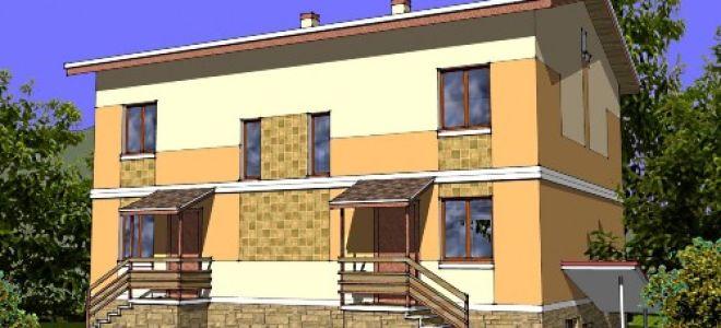Проект двухэтажного дома 261 кв.м — 103-261