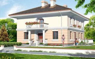 Проект двухэтажного дома 208 кв.м — 102-208