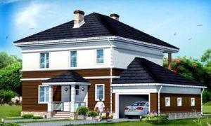 Проект двухэтажного дома 249 кв.м — 101-249