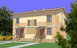 Проект двухэтажного дома 174 кв.м — 106-174
