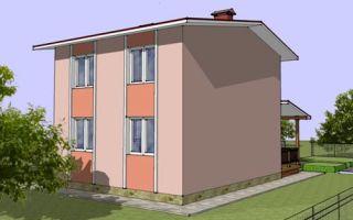 Проект двухэтажного дома 81 кв.м — 101-081