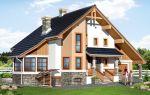 Проект мансардного дома 241 кв.м — 101-241