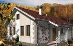 Проект одноэтажного дома 74 кв.м — 101-074