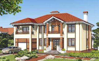 Проект двухэтажного дома 260 кв.м — 101-260