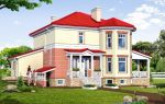 Проект двухэтажного дома 238 кв.м — 102-238