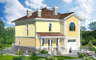 Проект двухэтажного дома 227 кв.м — 101-227