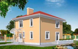 Проект двухэтажного дома 142 кв.м — 102-142