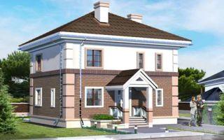 Проект двухэтажного дома 141 кв.м — 101-141