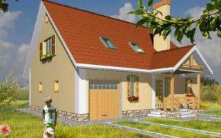 Проект мансардного дома 192 кв.м — 101-192