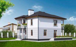 Проект двухэтажного дома 142 кв.м — 103-142