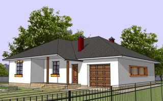 Проект одноэтажного дома 155 кв.м — 101-155