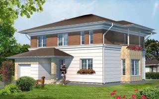 Проект двухэтажного дома 187 кв.м — 101-187