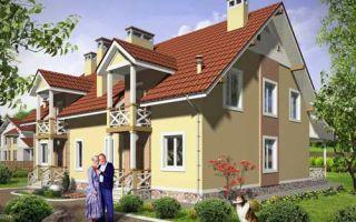 Проект мансардного дома 277 кв.м — 102-277