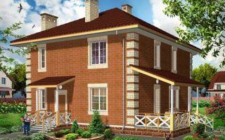 Проект двухэтажного дома 136 кв.м — 102-136