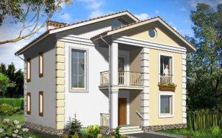 Проект двухэтажного дома 140 кв.м — 101-140