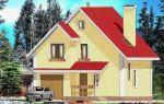 Проект дома с мансардой 121 кв.м — 101-121