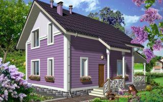 Проект мансардного дома 103 кв.м — 101-103