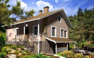 Проект двухэтажного дома 153 кв.м — 102-153