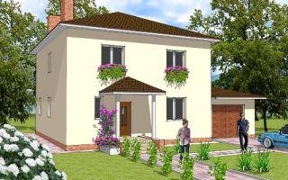 Проект двухэтажного дома 209 кв.м — 101-209