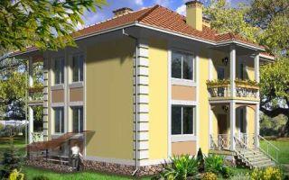 Проект двухэтажного дома 218 кв.м — 102-218