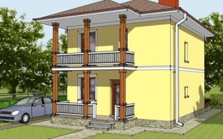 Проект двухэтажного дома 81 кв.м — 102-081