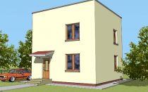 Проект двухэтажного дома 89 кв.м — 103-089