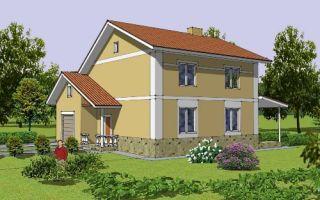 Проект двухэтажного дома 175 кв.м — 105-175