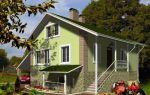 Проект мансардного дома 140 кв.м — 104-140