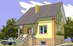 Проект дома с мансардой 131 кв.м — 102-131