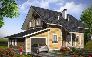 Проект мансардного дома 171 кв.м — 101-171