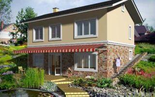 Проект двухэтажного дома 142 кв.м — 101-142