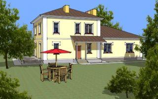 Проект двухэтажного дома 201 кв.м — 101-201