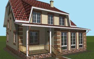 Проект мансардного дома 229 кв.м — 101-228